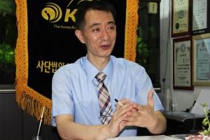 사단법인 한국 줄넘기 연맹 손성호 회장